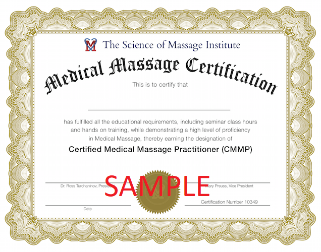 Science Of Massage Institute Certification Program In Medical Massage